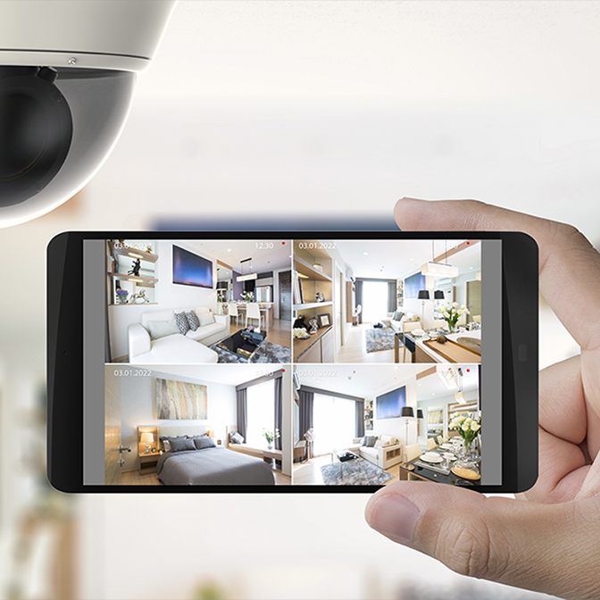 surveillance camera and footage